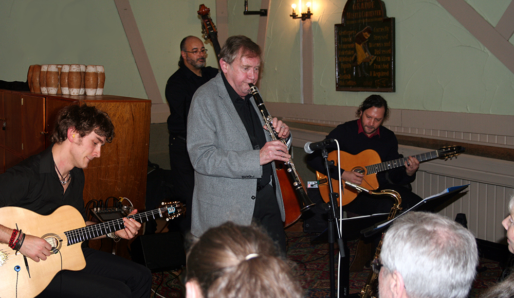 John Hallam with Remi Harris Trio